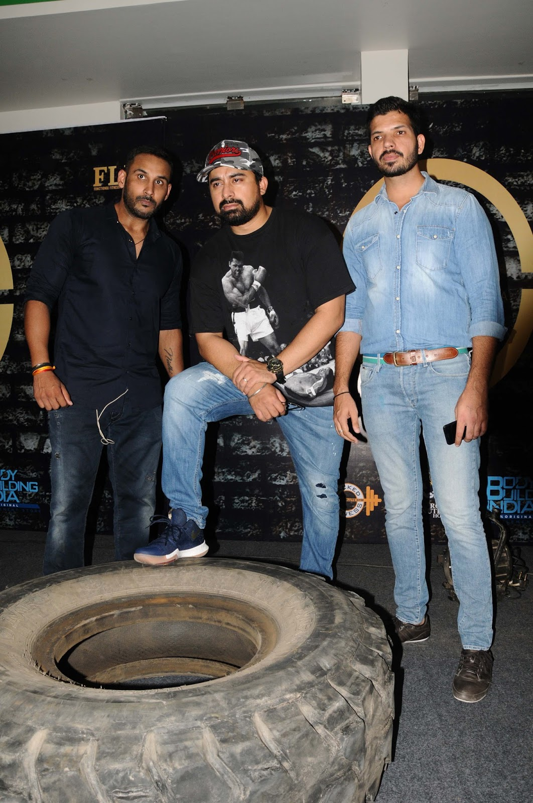 ed966cc410 Ranvijay and Sahil Khan Conduct Auditions of Fitness League of India