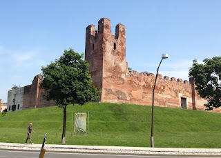 The walled city of Castelfranco Veneto, close to where Giacomo Facco was born