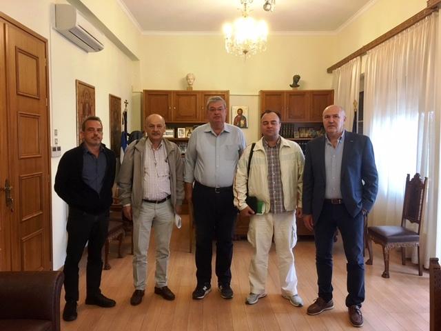 Συνάντηση του Περιφερειάρχη με το Δ.Σ. του  Πανεπιστημιακού Νοσοκομείου Ιωαννίνων