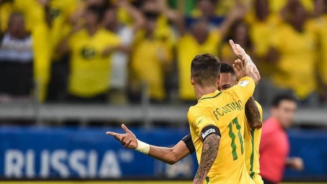 Neymar dan Coutinho, Sohib di Timnas Brasil yang Jadi Pemain Termahal