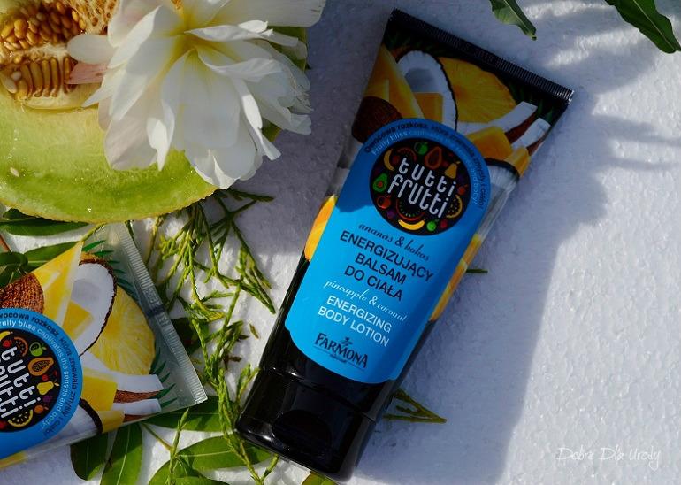 Farmona Tutti Frutti Ananas&Kokos Energetyzujący balsam do ciała