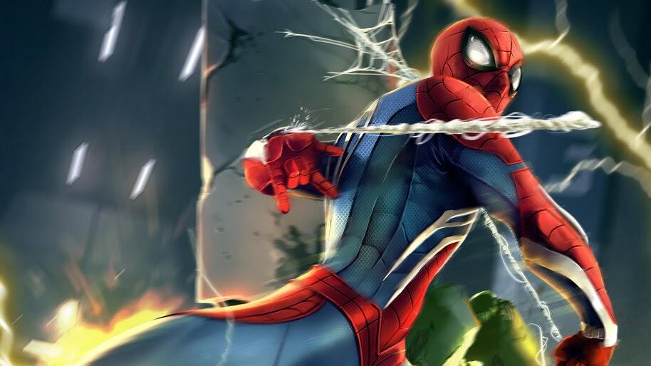 Spider-Man, Web Shoot, 4K, #6.2025