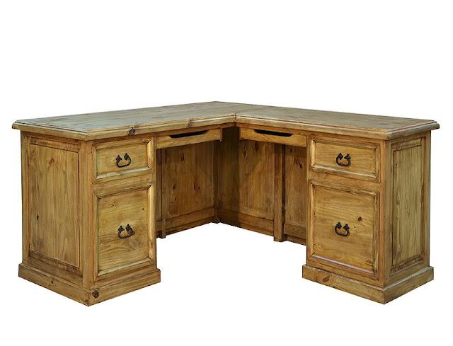 best buy wood rustic l shaped office desk for sale