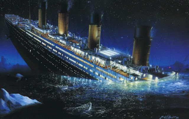 Ternyata, Penemuan Titanic adalah Pengalihan Isu