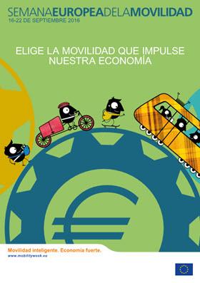 Semana Europea de la Movilidad 2016. 'Movilidad inteligente. Economía fuerte'