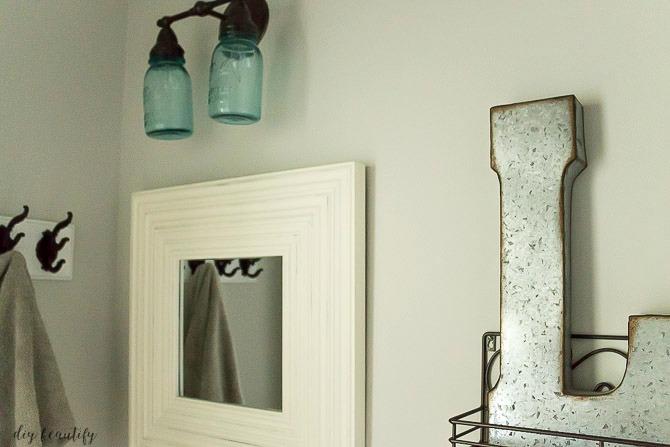 Reasonable Bathroom Makeovers mini budget bathroom makeover | diy beautify