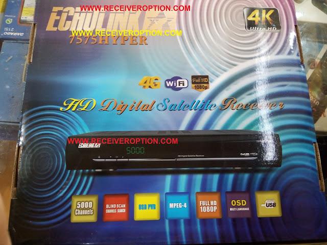 ECHOLINK 7575 HYPER HD RECEIVER CCCAM OPTION