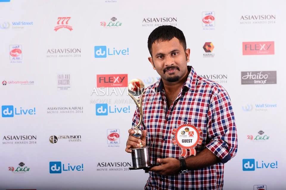 SreejitH RocksTaR [ JithU ] : Asiavision Movie Awards 2014