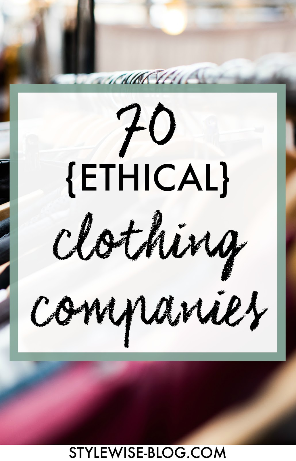 more than 70 ethical and sustainable womens clothing directory