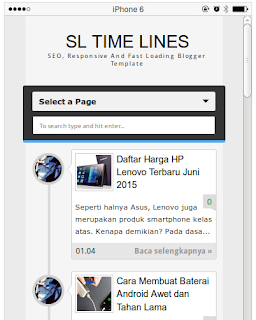 SL Time Line Resposive, SEO Fast Loading Blogger Template Juni 2015