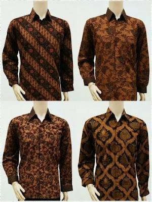 Baju batik pria ekslusif