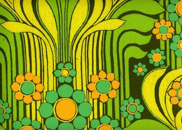 What Mama Says: Spring...1960s Wallpaper