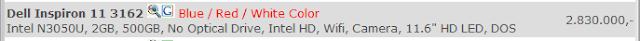 Netbook Murah Dell 2 Jutaan