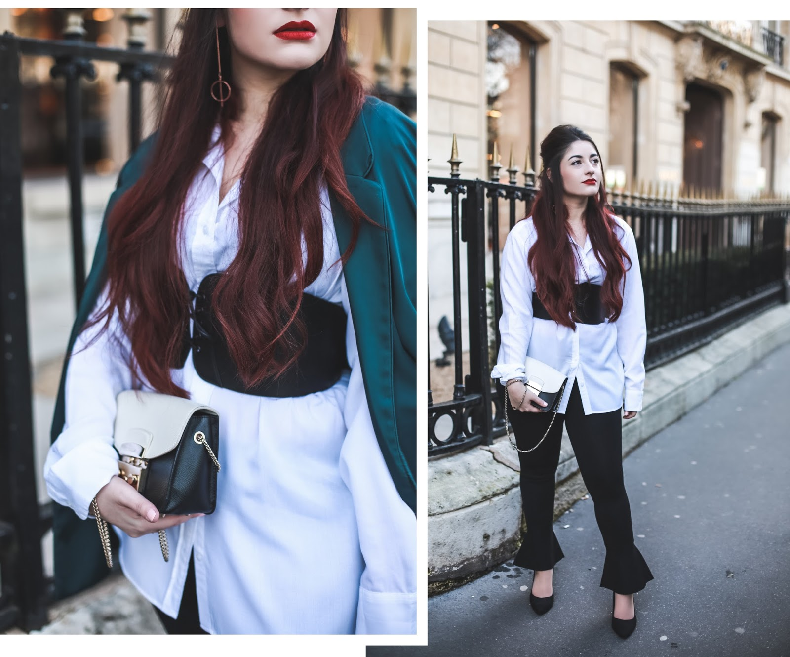 veste en satin blog mode