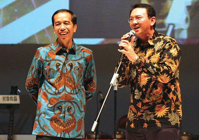 Kala Jokowi dan Ahok Kompakan Hindari Angka 2