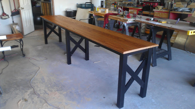 Deep In The Heart Of Texas Vette Extra Long Sofa Table