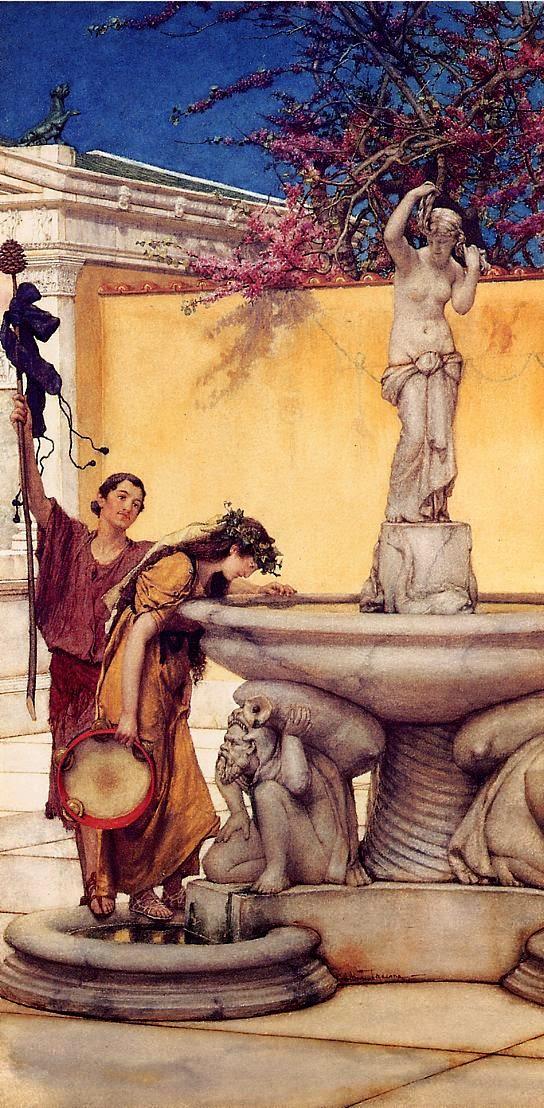 Entre Vênus e Baco - As mais belas pinturas de Lawrence Alma-Tadema - (Neoclassicismo)