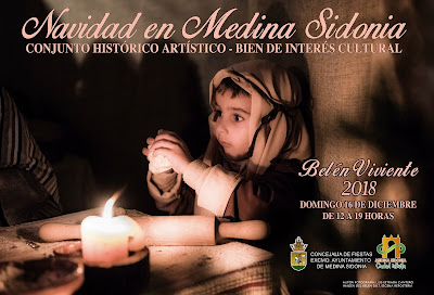 Medina Sidonia - Belén Viviente 2018 - Luis Estrada