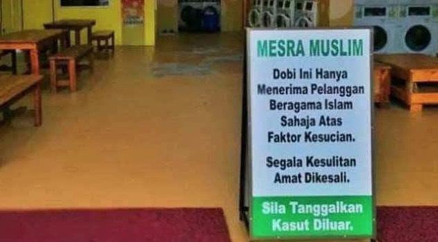 Pemilik Dobi Layan Diri 'Mesra Muslim' Akhirnya Tampil Mohon Maaf