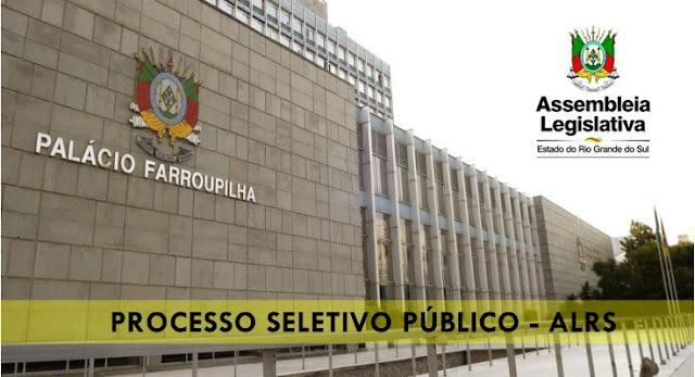 Processo Seletivo AL-RS - Estagio Assembleia Legislativa RS