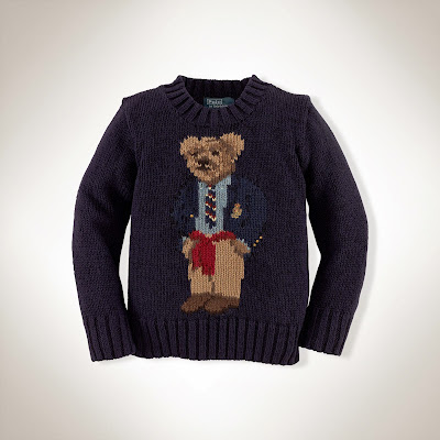 Boys Polo bear sweater