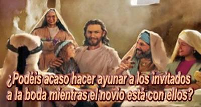 Resultado de imagen para Jesús no insiste en la práctica del ayuno