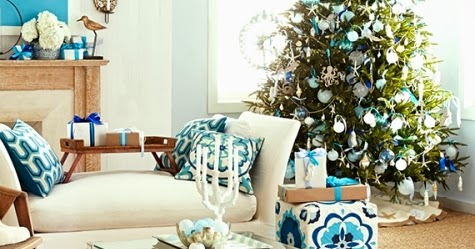 Outer Banks Living Rooms Christmas