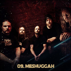 The 24 Greatest Bands In The World Right Now: 09. Meshuggah
