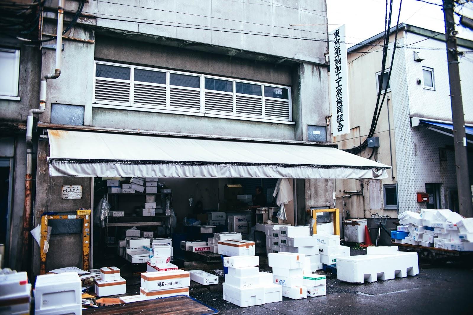 Tsukiji Fish Market in Tokyo, tsukiji, japan, fish, fresh market