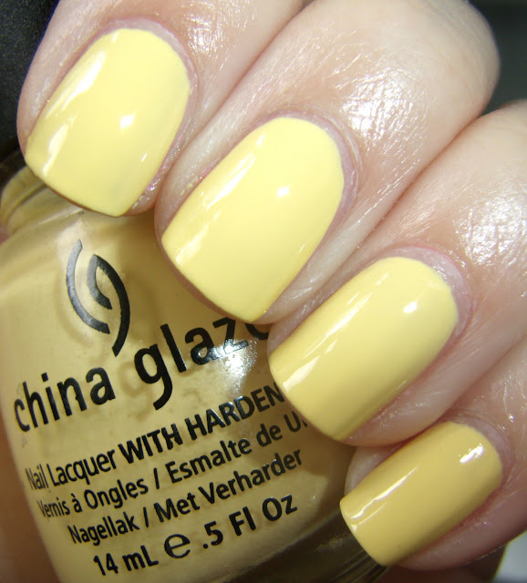 Obsessive Cosmetic Hoarders Unite China Glaze Lemon Fizz Nail Polish
