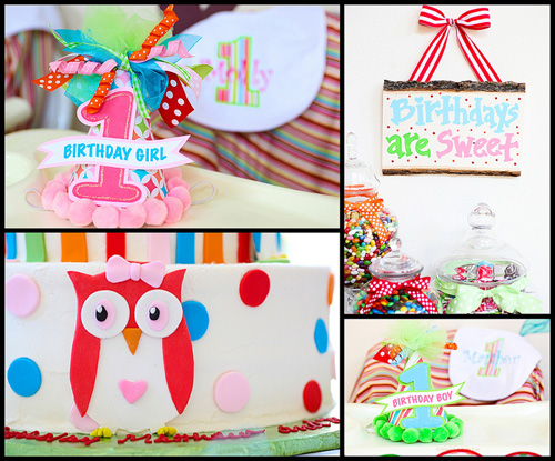 Owl First Birthday Party Decorations  from 4.bp.blogspot.com