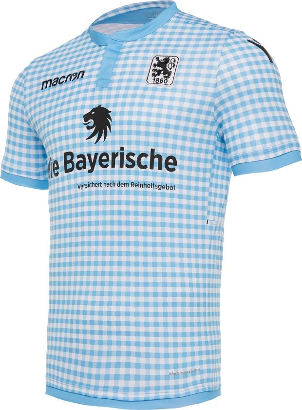 1860 München divulga camisa para a Oktoberfest - Show de Camisas 519013d1af459