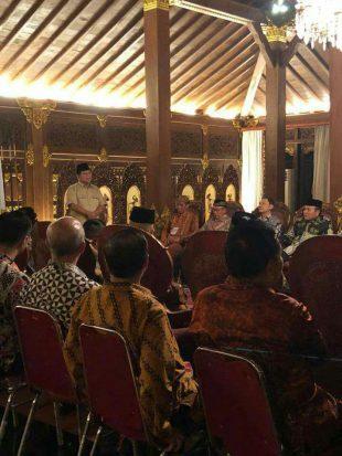 Sejumlah Jenderal Purnawirawan Sepakat Dukung Prabowo di Pilpres 2019