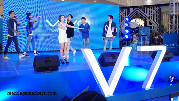 launch of Vivo V7 Philippines