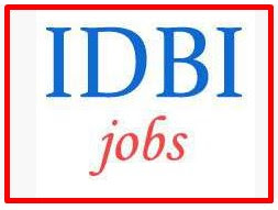 Chartered Accountants Jobs in IDBI Bank