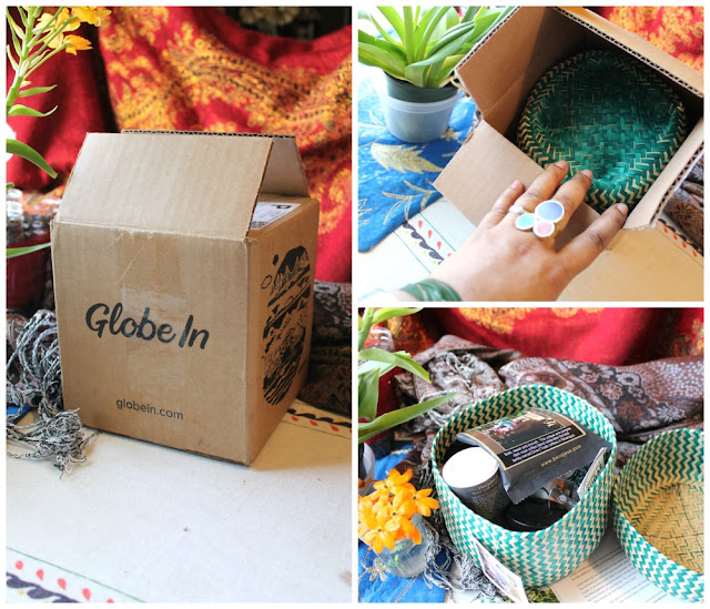 Globein subscription box review. The GlobeIn Artisan Box: Global Gifts Subscription Box review. globein essential box review. is globein legit.  globein box. globein spoilers.  globe in box cost. subscription boxes. a fair trade globein box
