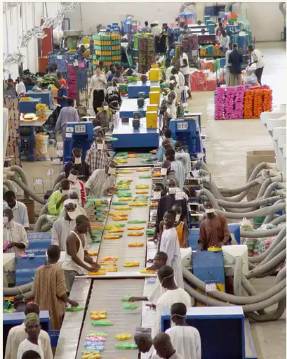 Kano Footwear Factory, APIN Produces 1.2 Million Pairs Daily