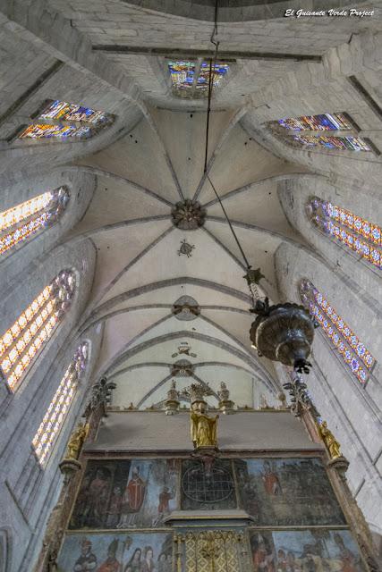 Boveda del Ábside de la Catedral de Santa María, en Saint Bertrand de Comminges, por El Guisante Verde Project