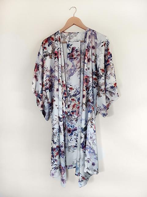 Kimono hecho a mano para boda