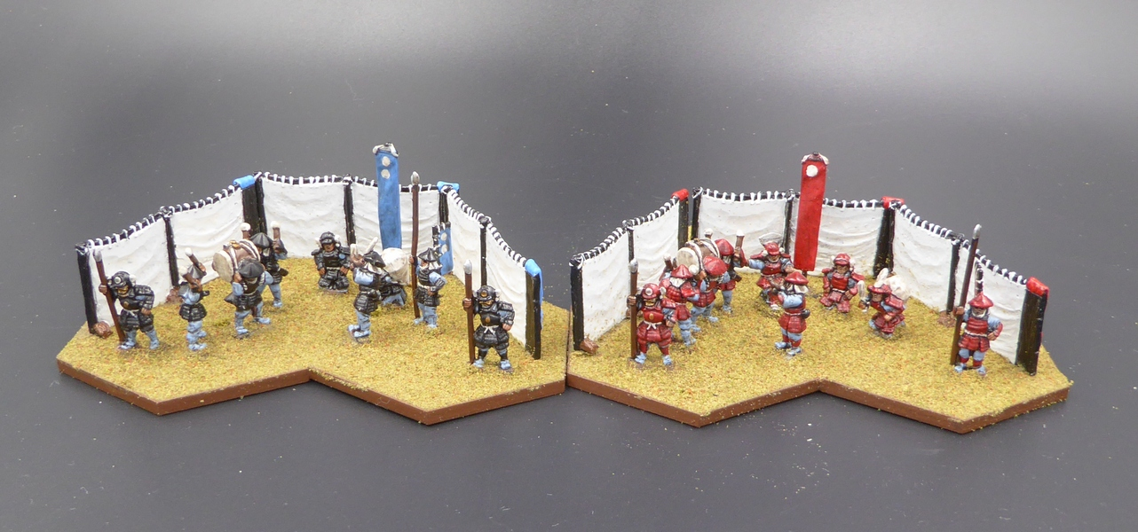 Palouse Wargaming Journal: Command Tents for Samurai Battles