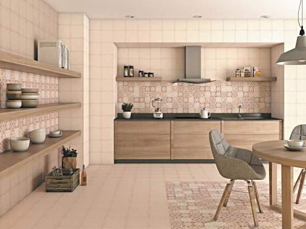 Contoh keramik lantai dapur