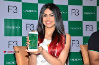 Bollywood Actress Adah Sharma Pos in White Printed Short Dress at OPPO F3 Plus Selfie Expert Mobile Launch .COM 0073.jpg