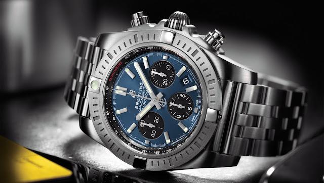 Breitling Chronomat 44 B01 - Blackeye-Blue