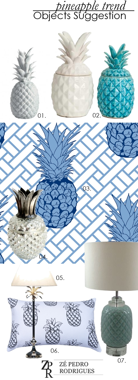 Apartment 312: Pineapple Trend -Objects Suggestion
