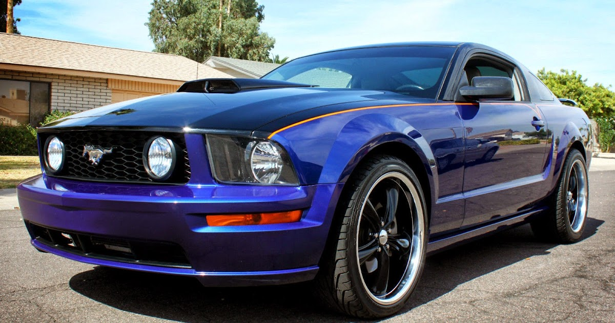 custom painted v8 2006 mustang gt premium for sale american muscle cars. Black Bedroom Furniture Sets. Home Design Ideas