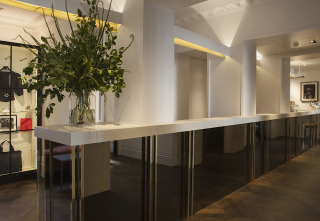 Lobby at The Laslett Hotel in Notting Hill in the heart of West London