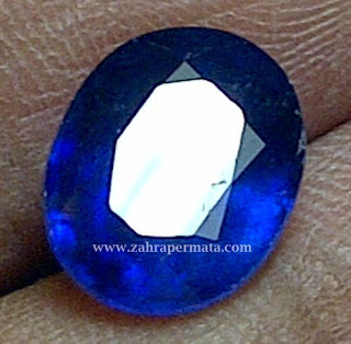 Batu Peramata Royal Blue Saphire - ZP 272
