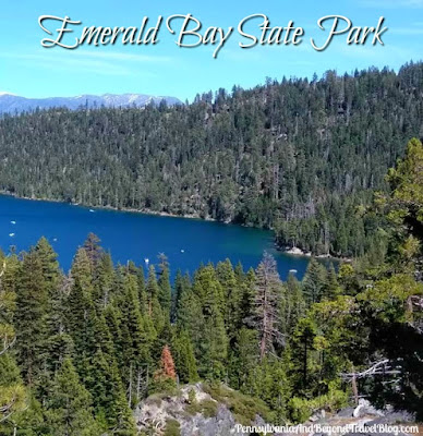 Emerald Bay State Park - Lake Tahoe in California