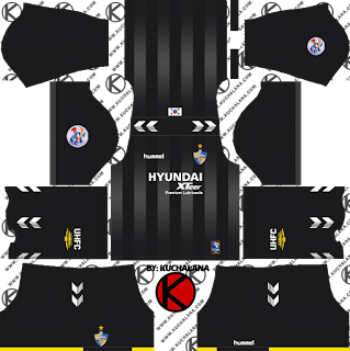 Ulsan Hyundai FC kits 2019 - Dream League Soccer Kits