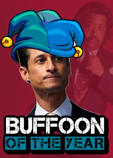 Behind Enemy Lines, Buffoon of the Year, Anthony Weiner